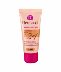 Makiažo pagrindas Dermacol Toning Cream 2in1 Desert 30ml Makiažo pagrindas veidui