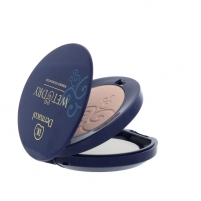Dermacol Wet & Dry Powder Foundation Cosmetic 6g Nr.1 Pamatojoties uz make-up uz sejas