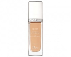 Makiažo pagrindas Dior Moisturizing makeup for a radiant natural look Diorskin Nude SPF 15 (Nude Skin Glowing Makeup-) 30 ml 032 Rosy Beige Makiažo pagrindas veidui