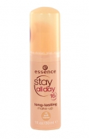Makiažo pagrindas Essence Stay All Day 16H Long Lasting Make-up Cosmetic 30ml 15 Soft Creme Makiažo pagrindas veidui