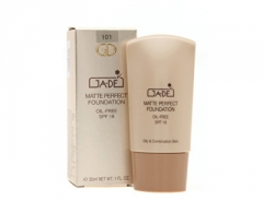 Makiažo pagrindas GA-DE Matting Makeup for Oily to (Matte Perfect Foundation) Skin SPF 18 (Matte Perfect Foundation) 30 ml No.105 Caramel Makiažo pagrindas veidui