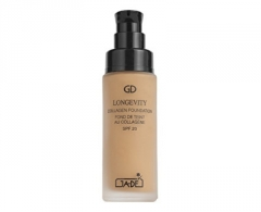 Makiažo pagrindas GA-DE Prolonged liquid makeup with SPF 20 collagen (Longevity Collagen Foundation SPF 20) 30 ml 501 SOFT BEIGE Makiažo pagrindas veidui
