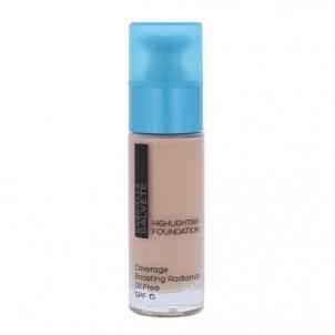 Makiažo pagrindas Gabriella Salvete Highlighting Foundation SPF15 Cosmetic 30ml Shade 100 Ivory Makiažo pagrindas veidui