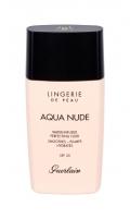 Makiažo pagrindas Guerlain Lingerie De Peau 01N Very Light Aqua Nude Makeup 30ml SPF20 Makiažo pagrindas veidui