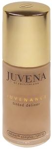 Makiažo pagrindas Juvena Juvenance Tinted Deliner Cream Light Sand Cosmetic 50ml Makiažo pagrindas veidui