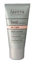 Makiažo pagrindas Lavera Liquid Make-Up Light No.1 Cosmetic 30ml Makiažo pagrindas veidui