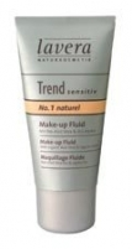 Makiažo pagrindas Lavera Liquid Make-Up Naturel No.2 Cosmetic 30ml Makiažo pagrindas veidui