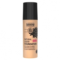 Makiažo pagrindas Lavera Natural and organic fluid makeup (Natural Liquid Foundation) 30 ml 05 mandle - ambra Makiažo pagrindas veidui