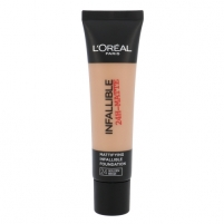 Makiažo pagrindas L´Oreal Paris Infallible 24H-Matte Foundation Cosmetic 35ml Shade 24 Golden Beige