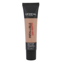 Makiažo pagrindas L´Oreal Paris Infallible 24H-Matte Foundation Cosmetic 35ml Shade 32 Amber