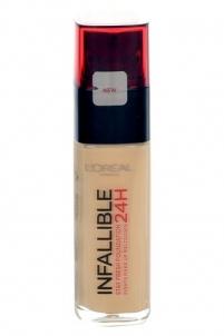 Makiažo pagrindas L´Oreal Paris Infallible Make-Up 24H Cosmetic 30ml Shade 125 Natural Rose