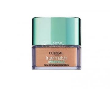 Makiažo pagrindas Loreal Paris Light Skincare Makeup True Match (Skin Improving Foundation) 10 g 4D/4W Golden Natural Makiažo pagrindas veidui