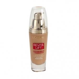 Makiažo pagrindas Loreal Paris Liquid makeup for Revitalift (Anti-Age Serum + Foundation) 25 ml 250 Sable Makiažo pagrindas veidui
