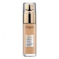 Makiažo pagrindas Loreal Paris Rejuvenating and brightening makeup Age Perfect (Radiance Foundation) 30 ml 180 Golden Beige Makiažo pagrindas veidui