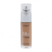 Makiažo pagrindas L´Oreal Paris True Match Super Blendable Foundation SPF17 Cosmetic 30ml D7-W7 Golden Amber Makiažo pagrindas veidui