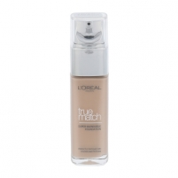 Makiažo pagrindas L´Oreal Paris True Match Super Blendable Foundation SPF17 Cosmetic 30ml R2-C2 Rosse Vanilla Makiažo pagrindas veidui