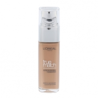 Makiažo pagrindas L´Oreal Paris True Match Super Blendable Foundation SPF17 Cosmetic 30ml Shade R7-C7 Rose Amber