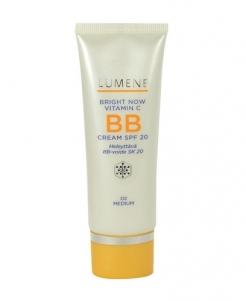 Makiažo pagrindas Lumene Bright Now Vitamin C BB Cream SPF20 Cosmetic 50ml Makiažo pagrindas veidui