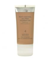 Makiažo pagrindas Lumene Matt Control Oil-Free Foundation Cosmetic 30ml Nr. 4, Warm Beige Makiažo pagrindas veidui