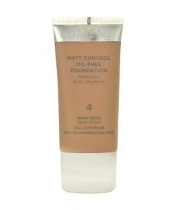 Makiažo pagrindas Lumene Matt Control Oil-Free Foundation Cosmetic 30ml Shade 1 Classic Beige Makiažo pagrindas veidui