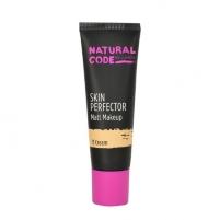 Makiažo pagrindas Lumene Natural Code Skin Perfector Matt Makeup Cosmetic 30ml Nr. 13 Toffee Makiažo pagrindas veidui