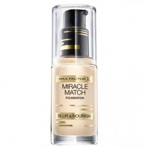 Makiažo pagrindas Max Factor Beauty Makeup New Generation (Miracle Match Foundation) 50 Natural Makiažo pagrindas veidui