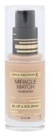 Makiažo pagrindas Max Factor Miracle Match Foundation Cosmetic 30ml Nr. 55 Beige Makiažo pagrindas veidui
