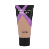 Makiažo pagrindas Max Factor Smooth Effect Foundation Cosmetic 30ml Shade 80 Bronze