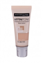 Makiažo pagrindas Maybelline Affinitone Foundation Cosmetic 30ml 20 Golden Rose Makiažo pagrindas veidui