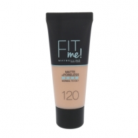 Makiažo pagrindas Maybelline Fit Me Matte + Poreless Foundation Cosmetic 30ml Shade 120 Classic Ivory