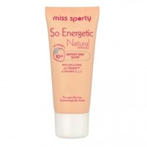 Makiažo pagrindas Miss Sporty So Energetic Natural Radiance Foundation 30ml Light Makiažo pagrindas veidui
