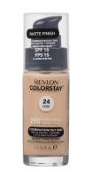 Makiažo pagrindas Revlon Colorstay Makeup Combination Oily Skin Cosmetic 30ml 250 Fresh Beige Makiažo pagrindas veidui