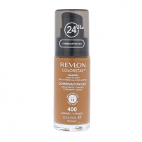 Revlon Colorstay Makeup Combination Oily Skin Cosmetic 30ml 400 Caramel Pamatojoties uz make-up uz sejas
