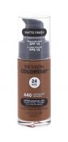 Makiažo pagrindas Revlon Colorstay Makeup Combination Oily Skin Cosmetic 30ml 440 Mahogany Makiažo pagrindas veidui