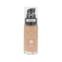 Makiažo pagrindas Revlon Colorstay Makeup Normal Dry Skin Cosmetic 30ml Shade 200 Nude