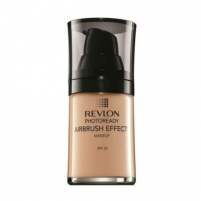 Makiažo pagrindas Revlon Liquid makeup for the perfect looking skin SPF 20 (Photoready Airbrush Effect Make-Up) 30 ml 001 Ivory