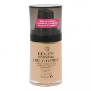 Makiažo pagrindas Revlon Photoready Airbrush Effect Makeup SPF20 Cosmetic 30ml Shade 002 Vanilla Makiažo pagrindas veidui