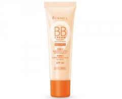 Makiažo pagrindas Rimmel BB Cream SPF 20 9v1 Radiance (Beauty Balm) 30 ml Light Makiažo pagrindas veidui