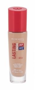 Makiažo pagrindas Rimmel London Lasting Finish 25h Foundation Cosmetic 30ml 200 Soft Beige Makiažo pagrindas veidui