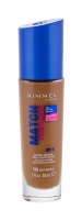 Makiažo pagrindas Rimmel London Match Perfection 506 Deep Noisette Makeup 30ml SPF15