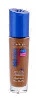 Makiažo pagrindas Rimmel London Match Perfection 601 Soft Chocolate Makeup 30ml SPF15