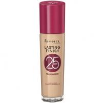 Makiažo pagrindas Rimmel Long lasting make-up Lasting Finish 25 Hour 30 ml Makiažo pagrindas veidui