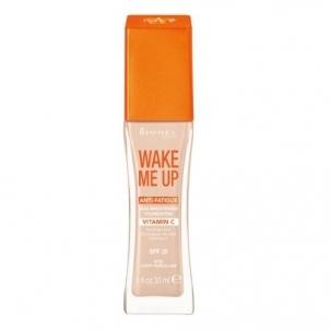Makiažo pagrindas Rimmel Wake Me Up SPF 20 (Foundation) 30ml 203 True Beige Makiažo pagrindas veidui