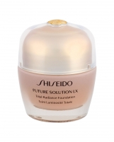 Makiažo pagrindas Shiseido Future Solution LX R2 Rose Total Radiance Foundation Makeup 30ml SPF15 Makiažo pagrindas veidui
