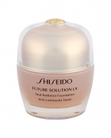 Makiažo pagrindas Shiseido Future Solution LX R3 Rose Total Radiance Foundation Makeup 30ml SPF15 Makiažo pagrindas veidui