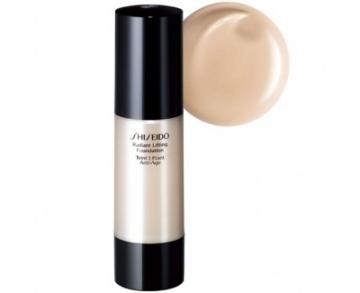 Makiažo pagrindas Shiseido Lifting Radiance makeup (Radiant Lifting Foundation) 30 ml I00 Very Light Ivory Makiažo pagrindas veidui