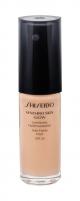 Makiažo pagrindas Shiseido Synchro Skin Glow Neutral 3 Makeup 30ml SPF20 Makiažo pagrindas veidui