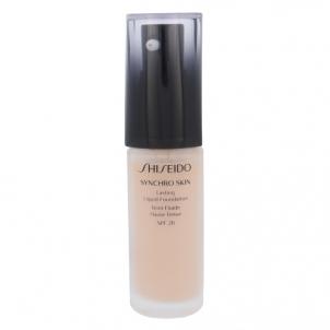Makiažo pagrindas Shiseido Synchro Skin Lasting Liquid Foundation SPF20 Cosmetic 30ml Shade Rose 2 Makiažo pagrindas veidui