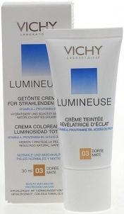 Makiažo pagrindas Vichy Lumineuse Tinted Moisturiser Cream 03 Mix Skin Cosmetic 30ml Makiažo pagrindas veidui