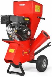 Šakų smulkintuvas benzininis HECHT 6420 Šakų, malkų smulkintuvai